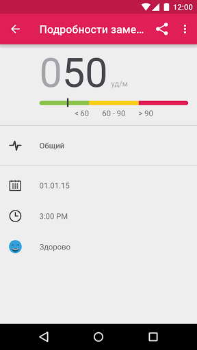 Runtastic Heart Rate для Андроид