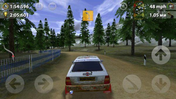 Скачать Rush Rally 2 для Андроид