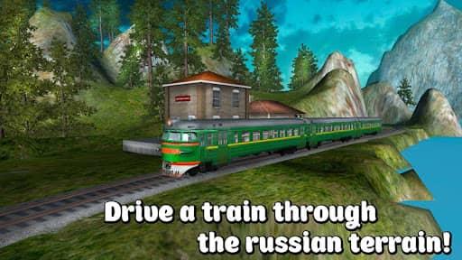 Скачать Русский Поезд 3D для Андроид