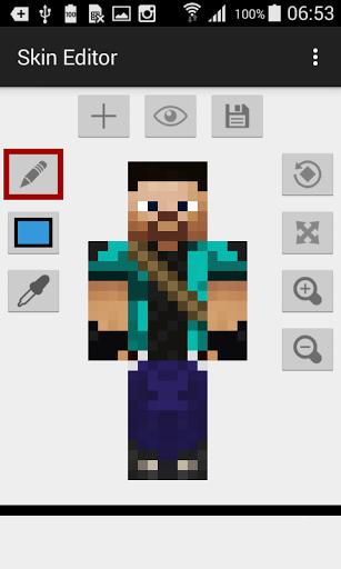 Скачать Skin Editor for Minecraft для Андроид
