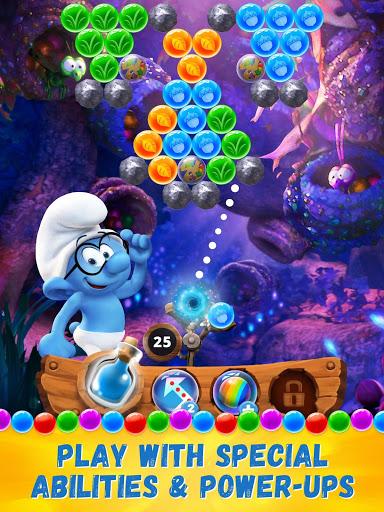 Скачать Smurfs Bubble Story для Андроид