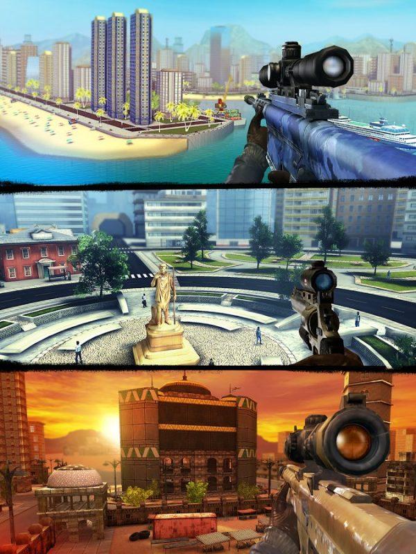 Sniper 3D Assassin для Андроид
