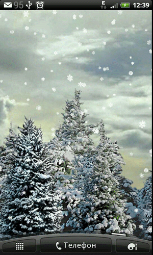 Скачать Snowfall для Андроид