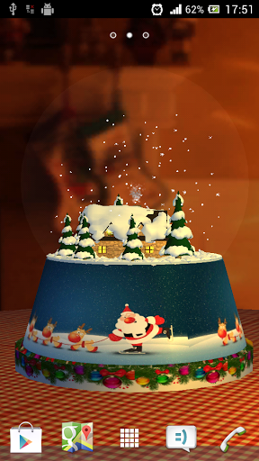 Скачать Snow Globe 3D для Андроид
