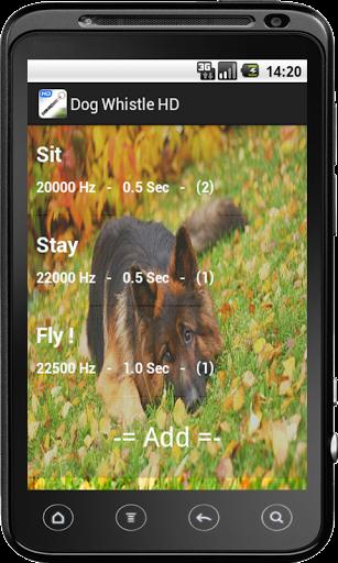Скачать Собачий Свисток HD для Андроид