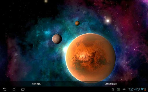 Скачать Солнечная система HD / Solar system HD Free для Андроид