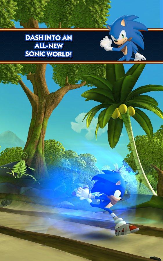 Скачать Sonic Dash 2: Sonic Boom для Андроид