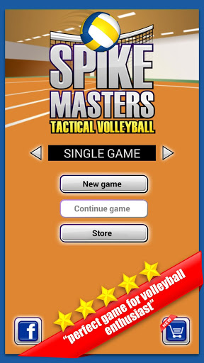 Spike Masters Volleyball для Андроид