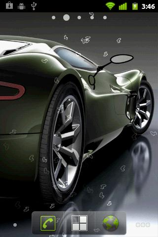 Скачать Sport Cars Live Wallpaper для Андроид