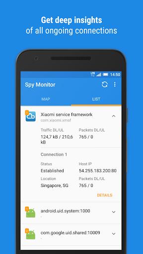 Скачать Spy Monitor для Андроид