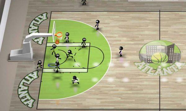 Скачать Stickman Basketball для Андроид