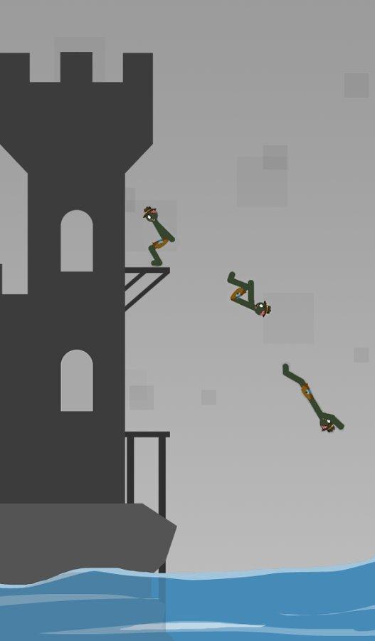 Скачать Stickman Flip Diving для Андроид