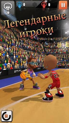 Скачать Swipe Basketball 2 для Андроид