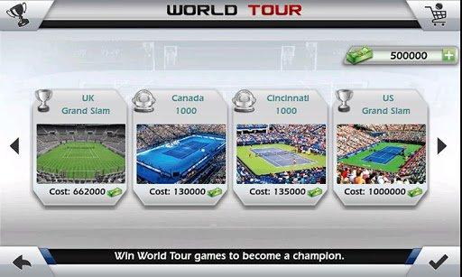 Скачать Теннис пальцем 3D — Tennis для Андроид