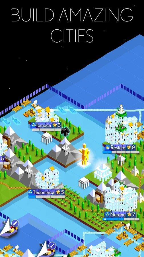 Скачать The Battle of Polytopia для Андроид