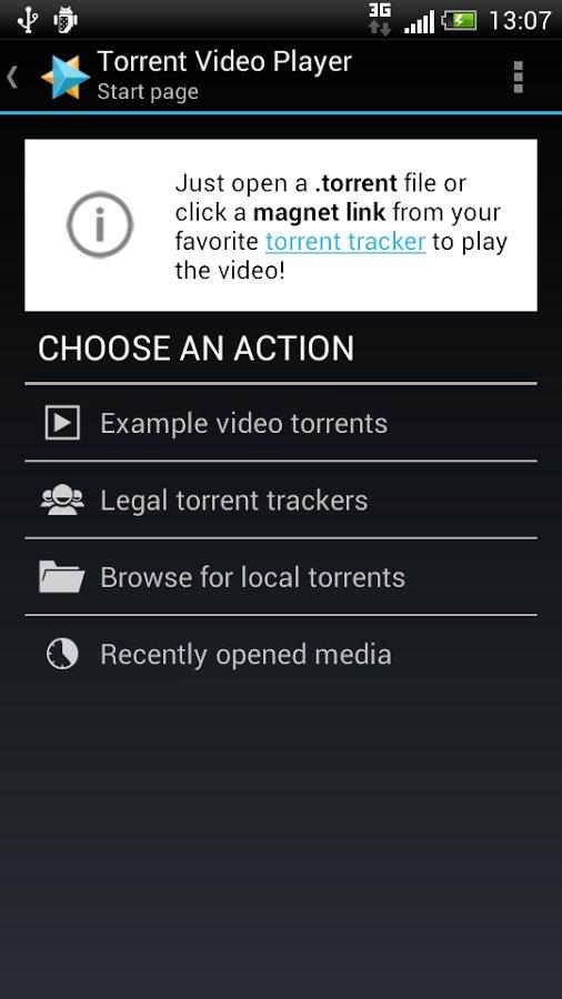 Скачать Torrent Video Player для Андроид