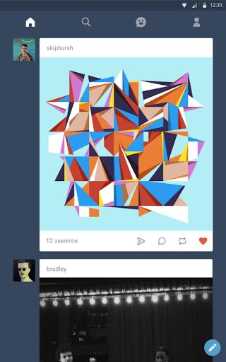 Скачать Tumblr для Андроид