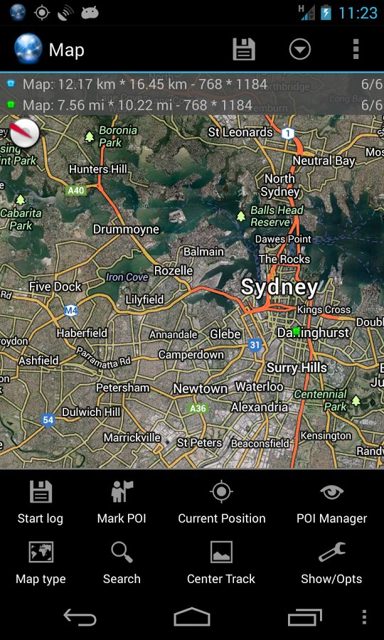 Скачать Ultra GPS Logger для Андроид