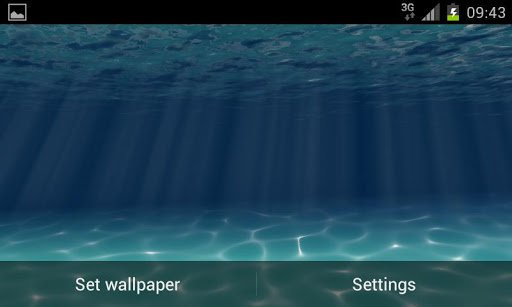 Under the Sea Live Wallpaper для Андроид
