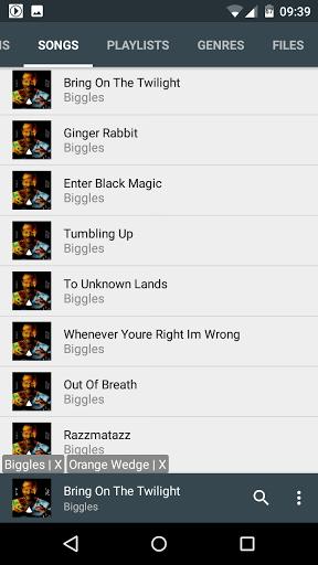 Скачать Vanilla Music для Андроид