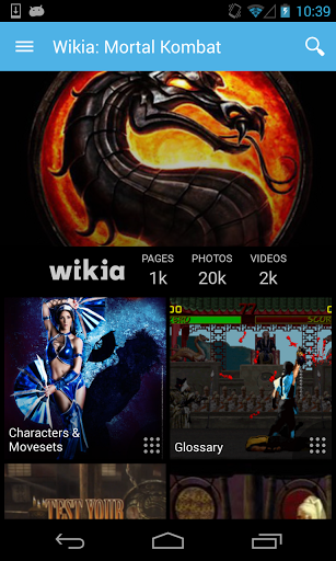 Скачать Викия: Mortal Kombat для Андроид