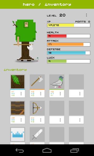 Widget RPG для Андроид