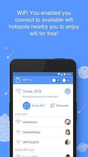 Скачать WiFi You для Андроид