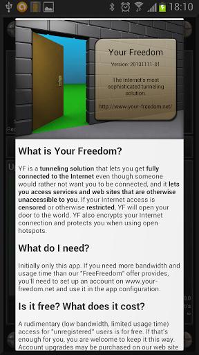 Скачать Your Freedom для Андроид