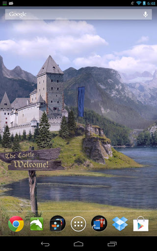 Замок живые обои / Summer Meadows LWP для Андроид