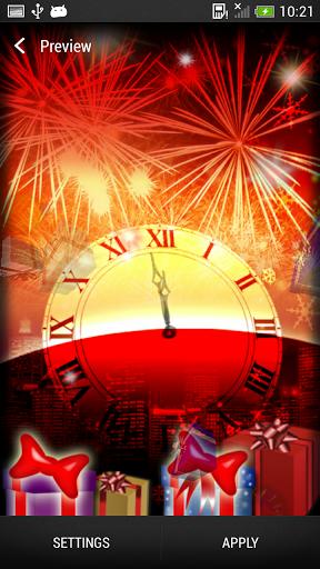 Скачать Живые Обои Новый Год для Андроид