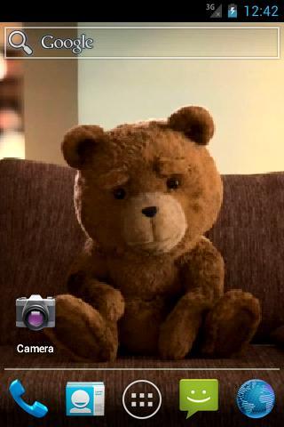 Живые обои с медведем / Ted Live Wallpaper для Андроид