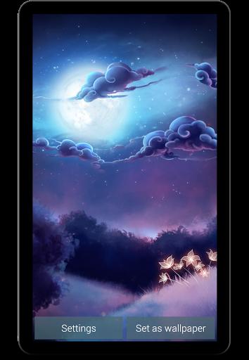 Живые обои Звездный свет RU / Starlight LWP для Андроид