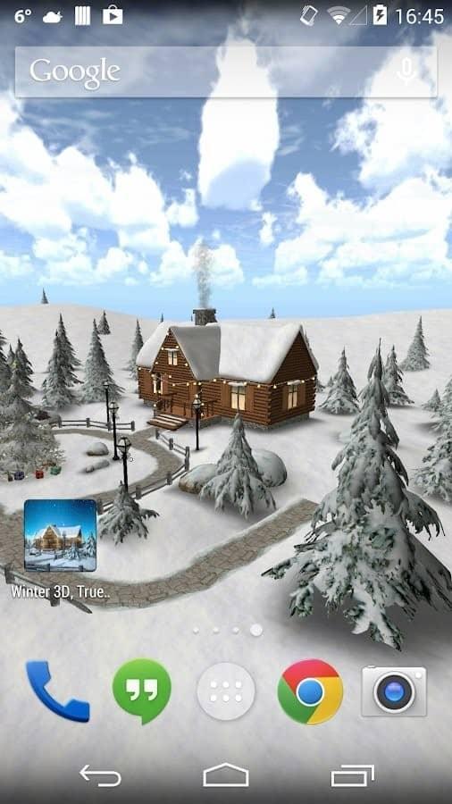 Скачать Зима 3D для Андроид