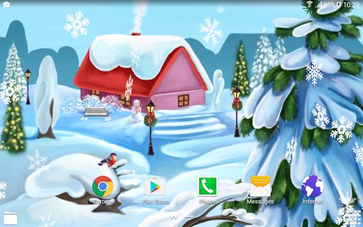 Скачать Зимний День Живые Обои для Андроид