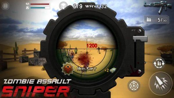 Скачать Zombie Assault: Sniper для Андроид
