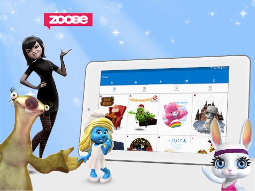 Скачать Zoobe для Андроид