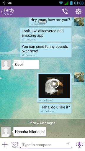 Скачать Звуки для Viber для Андроид