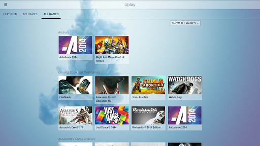 Download Uplay - free - latest version - Softonic